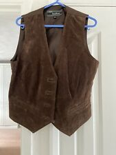Ladies Leather Waistcoat Size  14 Bnwot