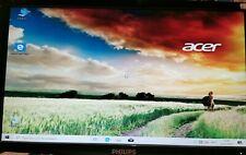 """Acer 600 desktop pc met 20""""monitor, keyboard, muis en alle aansluiting kabels"""