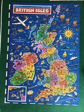 JR Jigsaw Puzzle - Map of British Isles - 500 pieces - Complete