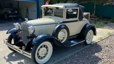 Ford Model A Sports coupe-1931-rare and beautiful-show standard