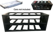Atlas Plastik Display für 15 Modell Autos 1:43 (schwarz)