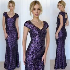 Stunning Ball Gown Size 10 Purple  Formal Events