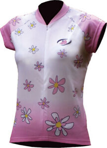 Polaris Daisy Short Sleeve Ladies Jersey: Pink