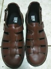 088c7bc59676 Drew Shoes Mens Sandals 10.5 W Leather Fisherman COMFORT