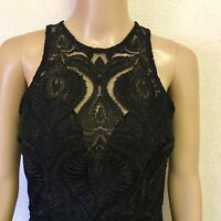 Stunning Bariano Dress  NWT Was  $170 Black Lace Dress Size XS