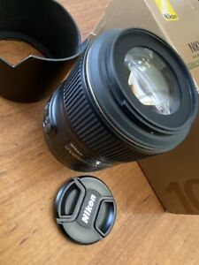 Nikon AF Micro-Nikkor 105mm f/2.8G IF -  ED Macro Lens In Box