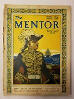 ANTIQUE ~ The Mentor Magazine ~ February, 1928 ~ Volume 16 ~ Number 1