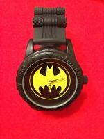 BATMAN DC MENS WATCH BOLD BLACK SILICONE BAND ACCUTIME NEW* Nice & Heavy 👍🏼