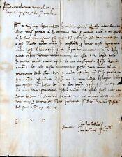 KRIEGSBERICHT AN DIE KAUFLEUTE ZU GENUA ÜBER NEAPEL PISA CAPITANO LARTINO 1505