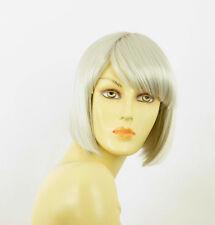 Perruque femme blanche cheveux lisses ref MAIA 60
