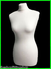 REPLACEMENT CREAM COVER Female Tailors Dummy Dressmakers Mannequin Size 8,10,12