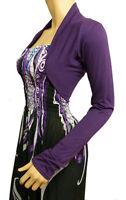 New Ladies Bolero Shrug Cardigan Ladies Top - UK Size (16,18,20 & 22)