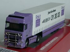 Herpa DAF XF SSC STS, Spedition weiss-lila - 148139 - NP 45,- DM - 1:87
