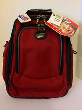 """American Tourister e.vole Convertible Backpack(red/black 15""""H, 11""""L, 7""""W)"""