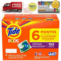Tide Pods Laundry Detergent, Spring Meadow (154 ct.) *BEST DEALS IN US*