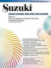 Suzuki Violin School, Vol 4: General MIDI Disk CD-ROM by Linda Perry...