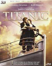 TITANIC 3D (BLU-RAY 3D + 2D) Leonardo DiCaprio, Kate Winslet, EDIZIONE SLIPCASE