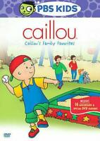Caillou - Caillous Family Favorites (DVD, 2008)