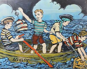 """DAVID BROMLEY """"Maiden Voyage"""" Signed Limited Edition Print, 72cm x 90cm"""