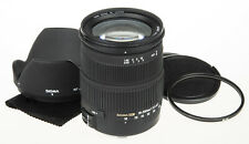 Sigma 18-200mm f/3.5-6.3 DC OS Lens for Canon +UV filter +hood *good condition*