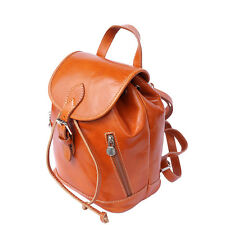 Backpack Purses Bag Italian Genuine Leather Hand made in Italy Florence 6559
