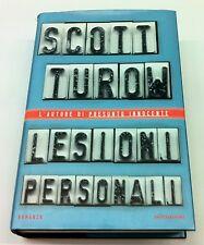 Lesioni personali Scott Turow