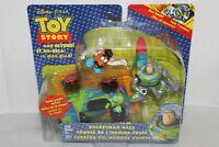 Disney Toy Story and Beyond Rocketman Race set   Buzz Mr. Potato Head and RC
