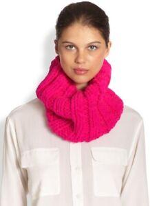EUGENIA KIM 133749 Women's 'Bobbi' Pink Wool Knit Cowl