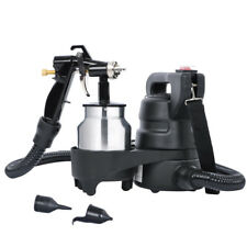 1000ml Electric HVLP Air Spray Gun Kit 450W Paint Sprayer 1.0mm Nozzle DIY Tool