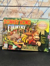 Donkey Kong Country 1 Super Nintendo AUTHENTIC SNES CARTRIDGE GAME VINTAGE DKC