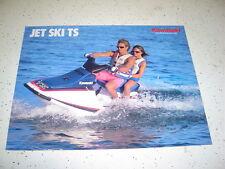 Kawasaki 1989 Jet Ski TS JF650 - B1. NOS.Sales Brochure 4 Pages.