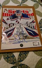 Henrik Lundqvist Sports Illustrated (Autographed) (JSA COA) (No Label)