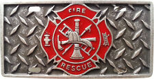 Gürtelschnalle Feuerwehr Rescue