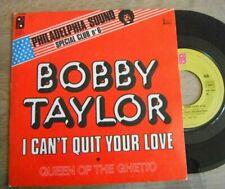 Rare SP BOBBY TAYLOR Philadelphia Sound Club N°6 SOUL FUNK