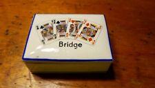 Vintage Porcelain Bridge Playing Card Box Holder Made in Czechoslovakia (O'919)
