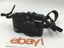 Canon PowerShot G16 12.1MP Digital Camera NO BATTERY OR SD CARD -FREE SHIPPING