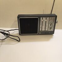 VTG GE General Electric 4 Band Receiver TV/WB/AM/FM Radio 7-2945A TV Sound Works