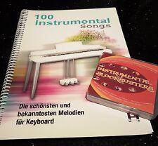 INSTRUMENTAL BLOCKBUSTERS Genos (USB only + book set) 1000 REGISTRATIONS + book