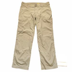 """Cabela's Women's UPF 30 Sun Protection Roll Up Leg Outdoor Cargo Pants 36"""" Waist"""