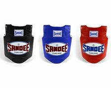 Sandee Kids Authentic Body Shield Guard Muay Thai Sparring Blue Black Red Child