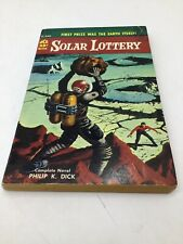 """PHILIP K DICK """"SOLAR LOTTERY"""" 2nd Ed of 1st DICK Book! Classic Cover Art VG!"""