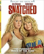 Snatched 2017 2 Disc Set Blu-Ray + DVD + Digital HD Amy Schumer Goldie Hawn