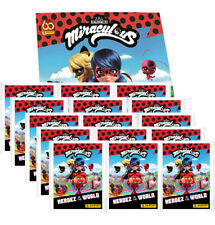Panini Miraculous Ladybug Heroez in the World Sticker – 1x Album + 15x Tüten