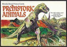BROOKE BOND-EMPTY ALBUM- PREHISTORIC ANIMALS (WITH PRICE)