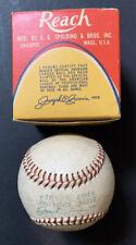 Joseph Joe Cronin Vintage 1960-1969 Reach Official Al Baseball with Box