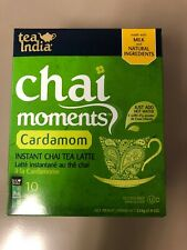 Tea India Chai Moments Instant Chai Latte - Cardomom Free SHIPPING FROM USA!
