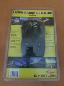 Whistler XTR-538 Laser Radar Detector (X, K, and Ka bands )360 Degree Protection