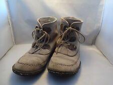 SOREL Joplin Suede Ankle Boot Wm Size USA 11 EUR 42 USED  Gray