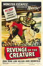 "Revenge of the Creature Movie Poster [Licensed-NEW-USA] 27x40"" Theater Size 1955"