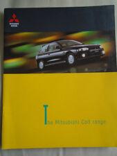 Mitsubishi Colt range brochure Apr 1999